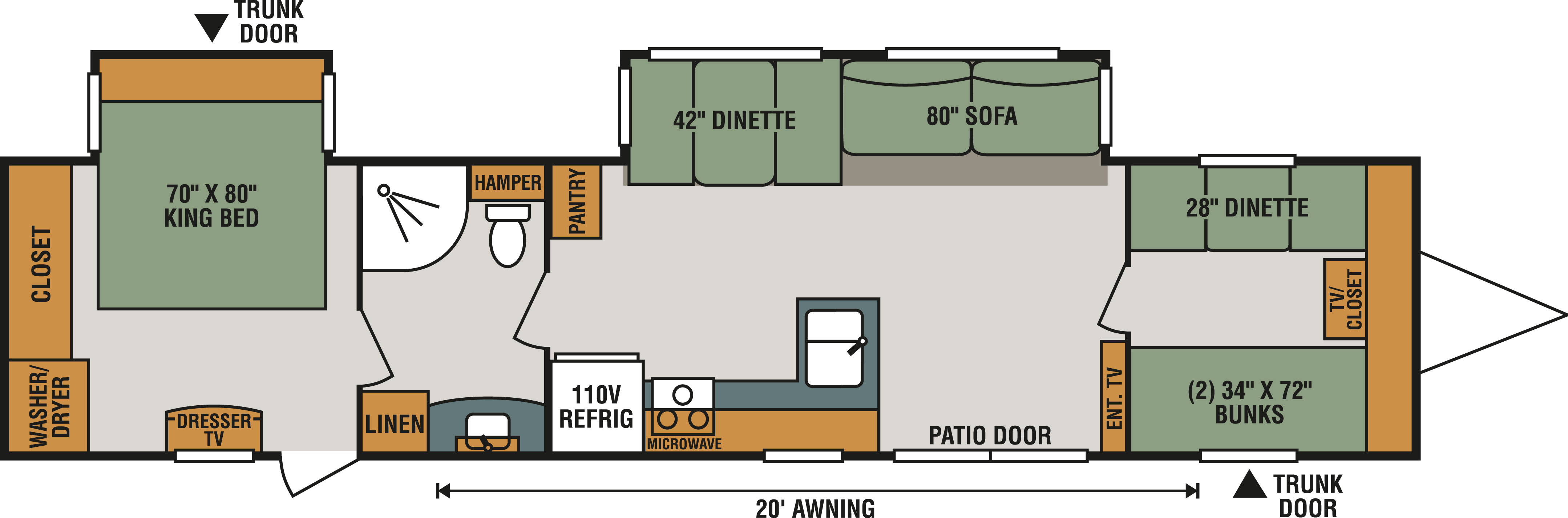 Kodiak Travel Trailer Floor Plans Photo Aerolite Floor Plans Images Kodiak Rv Floor Plans