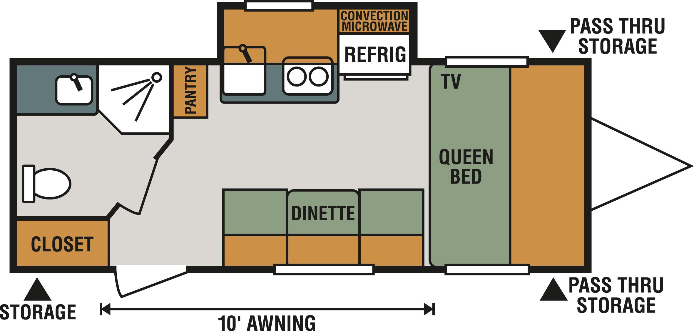Fresh Open Range Travel Trailer Floor Plans Graphics Home