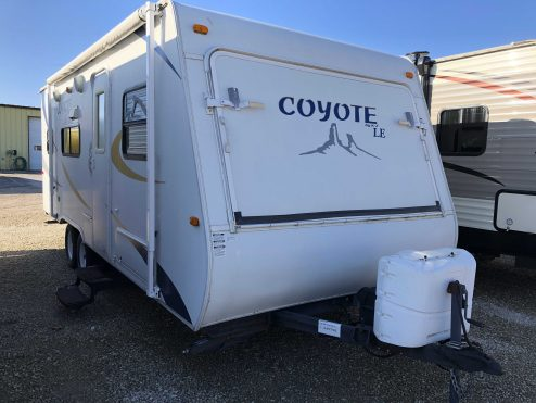 2009 KZ 23CMS Coyote LE #045758