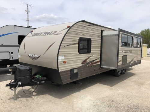 2017 Forest River 26DBH Grey Wolf Limited #036625